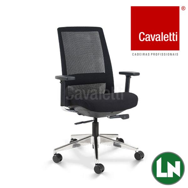 Cavaletti C4 - Poltrona Presidente Giratória 29001 Syncron 3D