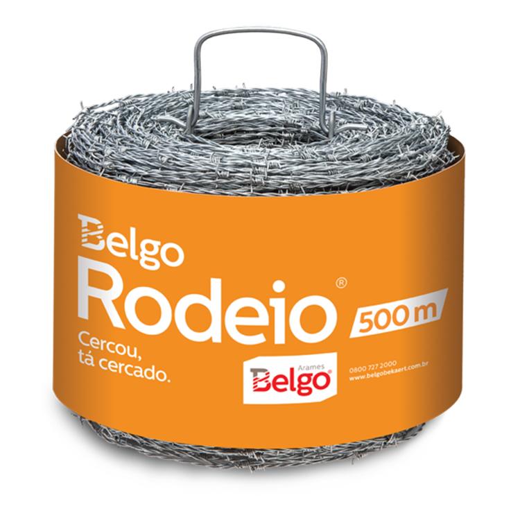 ARAME FARPADO RODEIO BELGO - RL 500 M