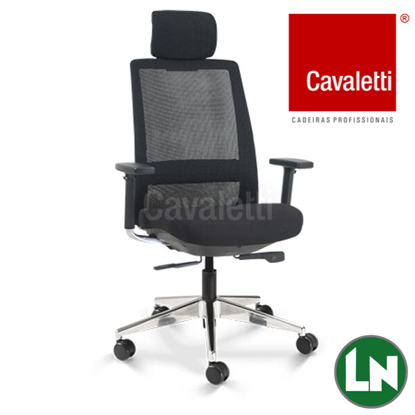 Cadeira Cavaletti Giratória Presidente C4 29001 AC Syncron 3D
