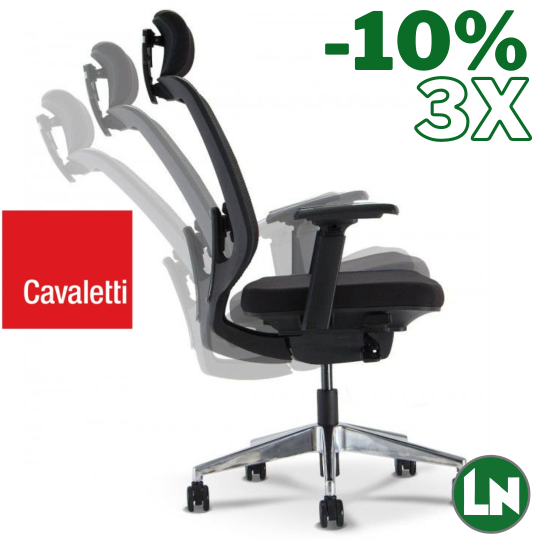 Cavaletti C3 28001-Syncron All Black Home Office [Entrega Rápida]