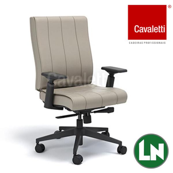 Cavaletti Essence - Diretor Giratória 20502 Syncron RP Braços 4D Nylon