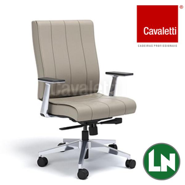 Cavaletti Essence - Diretor Giratória 20502 Syncron RP Braços Fixos Alumínio