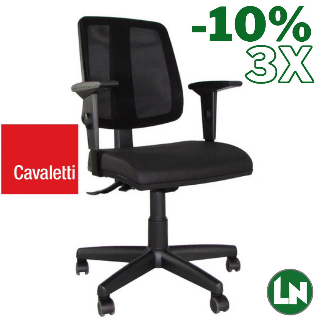 Cavaletti Flip 43103-SRE All Black Home Office [Entrega Rápida]