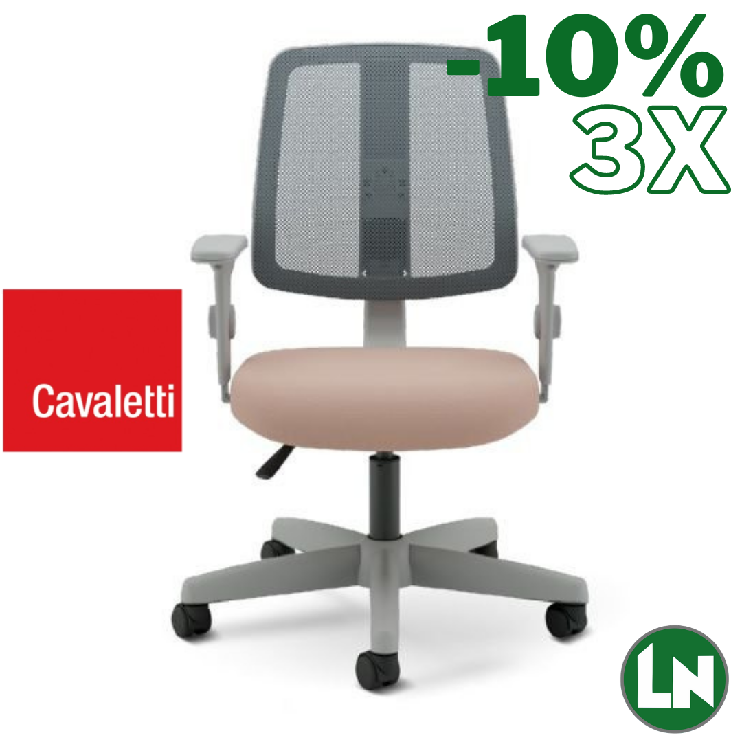 Cavaletti Flip Light 43503 Cinza/Rosa Home Office [Entrega Rápida]