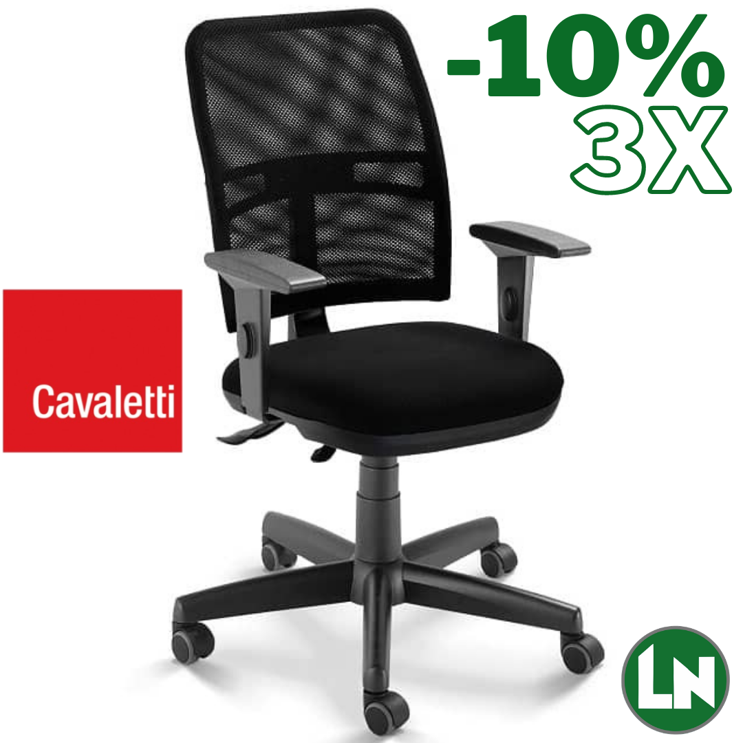 Cavaletti NewNet 16003-SRE All Black Home Office [Entrega Rápida]