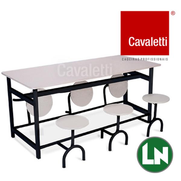 Cavaletti Service 11301 com Bancos