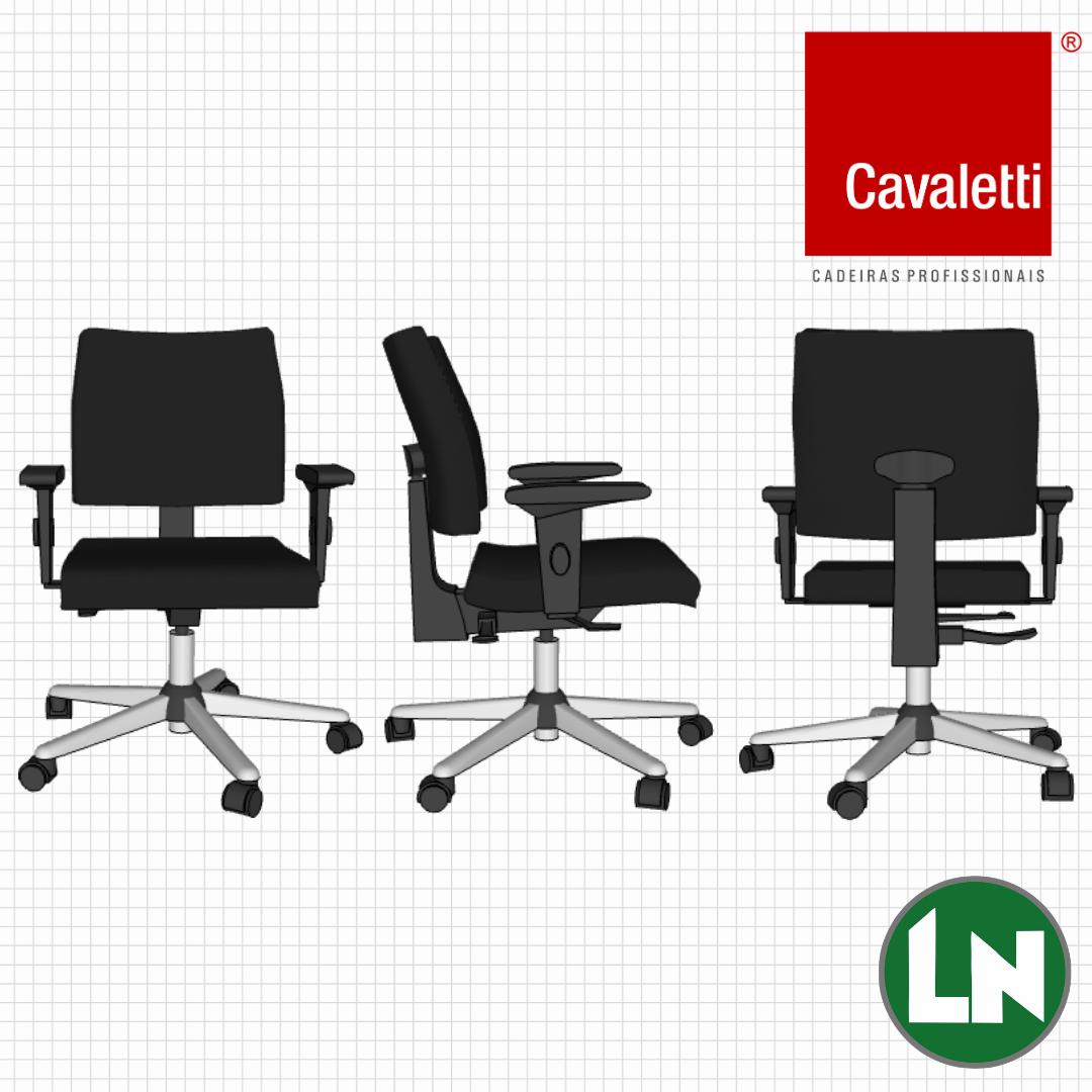 Cavaletti SLIM 18004 Cadeira para Escritório