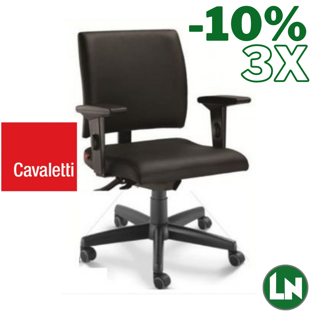 Cavaletti Slim 18004-SRE All Black Home Office [Entrega Rápida]
