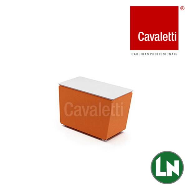 Cavaletti Spin - 36805 Módulo Mesa Tampo de Madeira Conexão USB Opcional