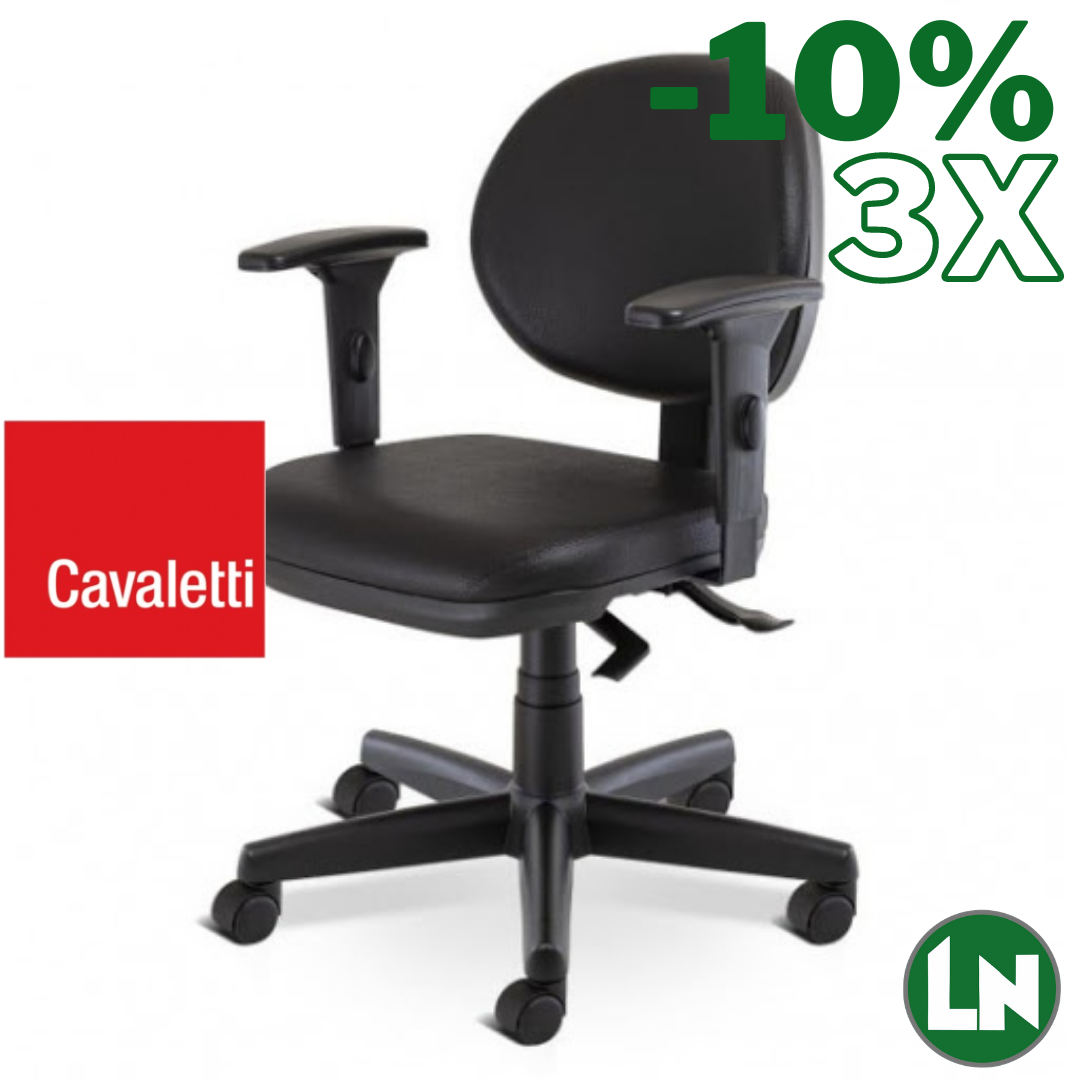 Cavaletti Start 4064-SRE All Black Home Office [Entrega Rápida]