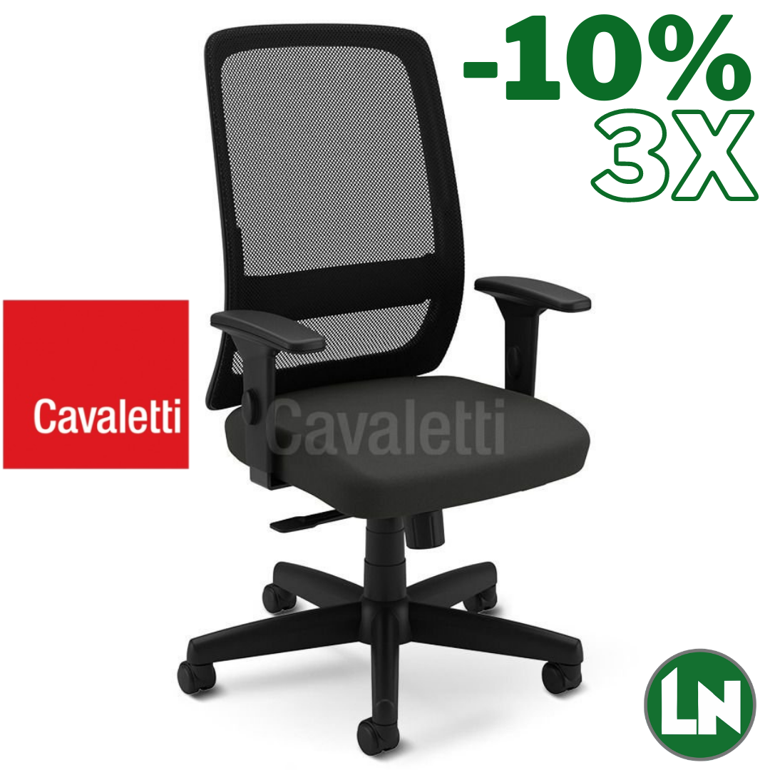 Cavaletti Vélo Light 42501 All Black Home Office [Entrega Rápida]