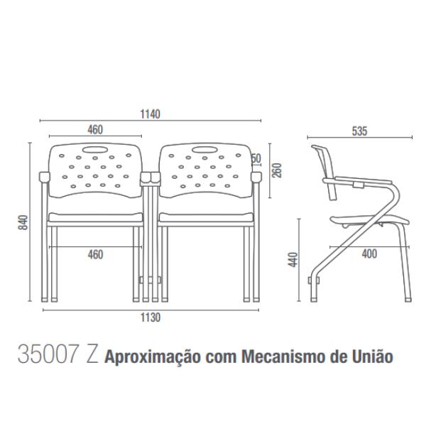Cavaletti Viva 35007 Z modula Longarinas