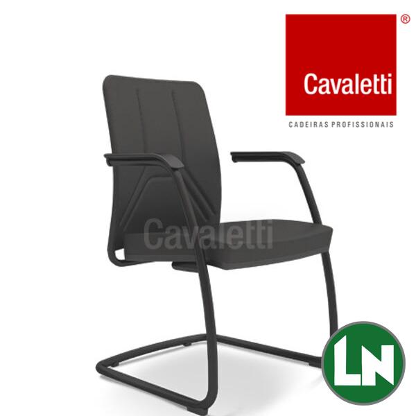 Cavaletti Way 19006 SI Estrutura Preta, Prata ou Cromada