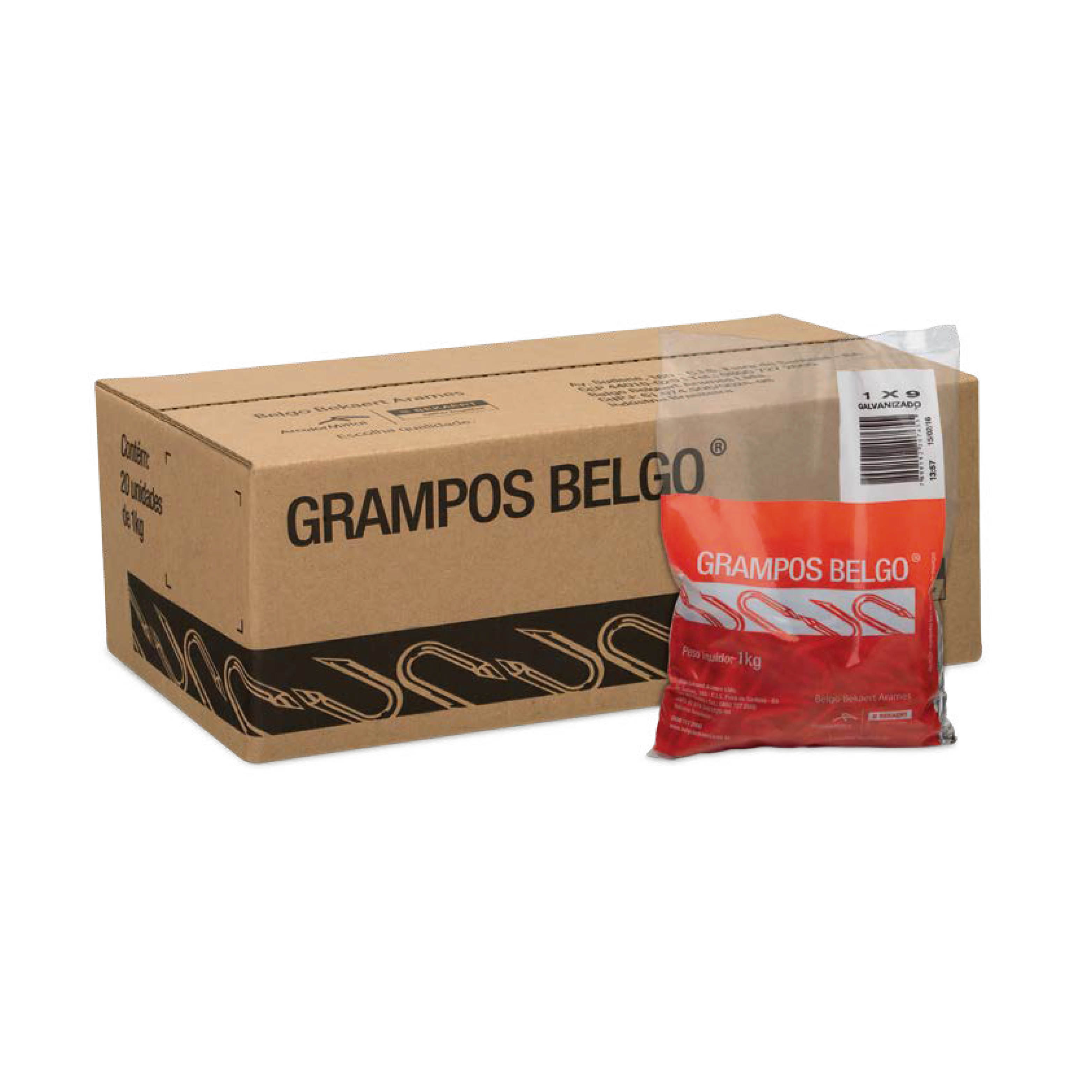 GRAMPO POLIDO 09X7/8 BELGO - 1 KG