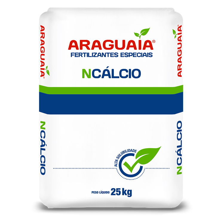 NITRATO DE CÁLCIO - 25 KG