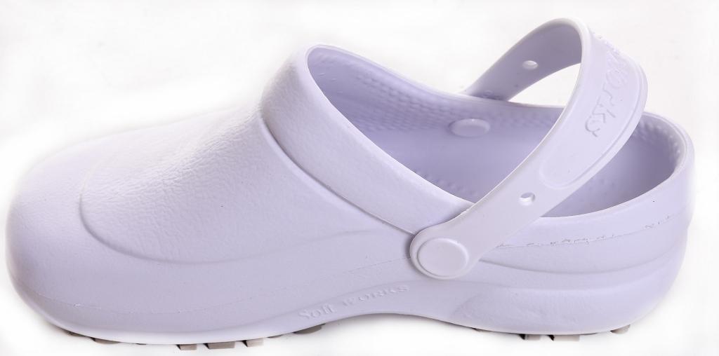 Crocs Soft Work Branco