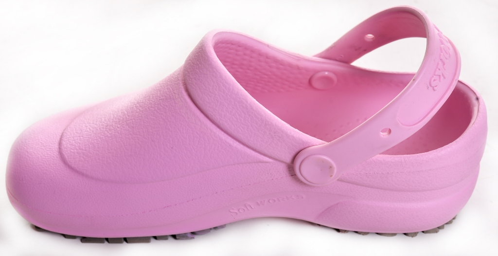 Crocs Soft Work Rosa