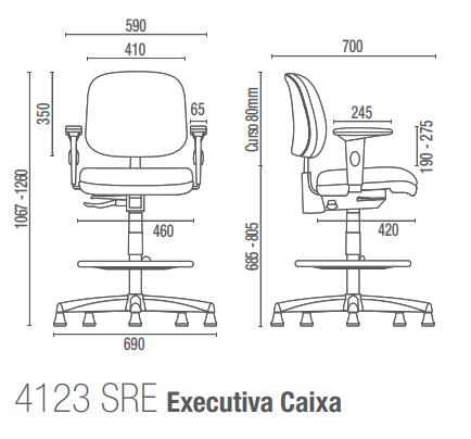 Start 4123 SRE Executiva Caixa