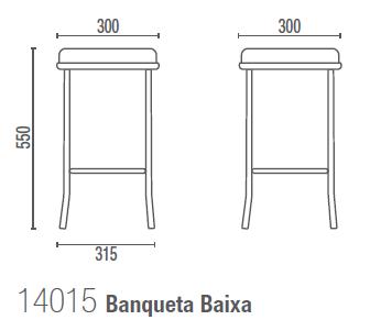 Fun 14015 Banqueta Baixa