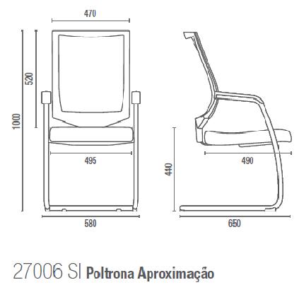 Air 27006 SI Poltrona Aproximação