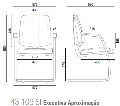 Flip 43106 SI Executiva Aproximação