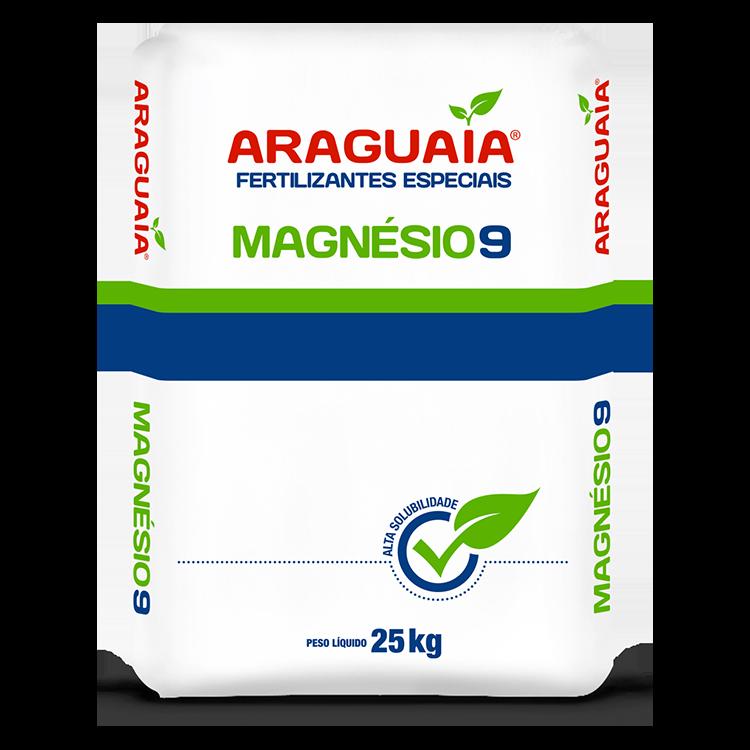 SULFATO DE MAGNESIO 9% -  25 KG