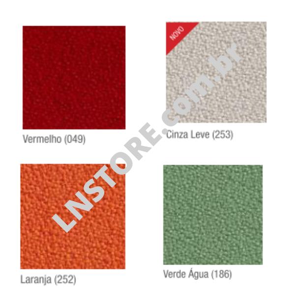 Tecido poliéster indicado para uso individual (opções de cores)