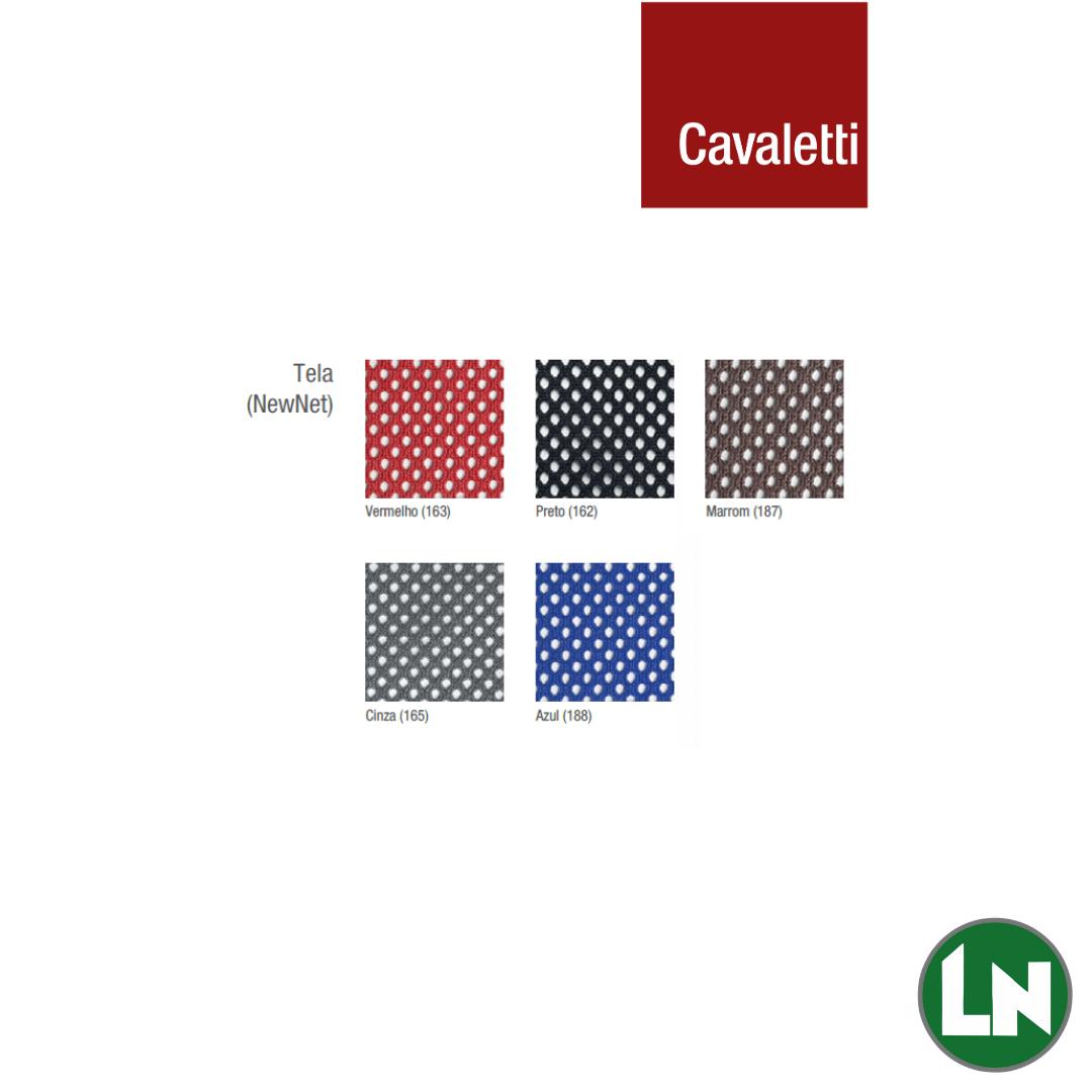 Tela NewNet Cores disponíveis