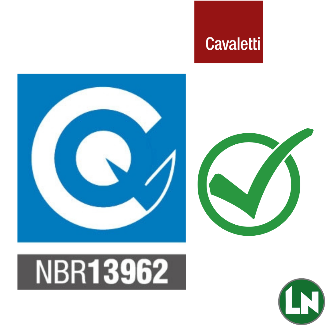 Atendem aos Requisitos Norma ABNT NBR 13962