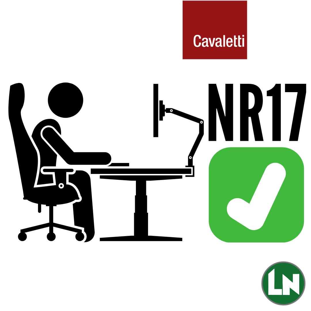 Cadeiras Certificáveis Norma NR17