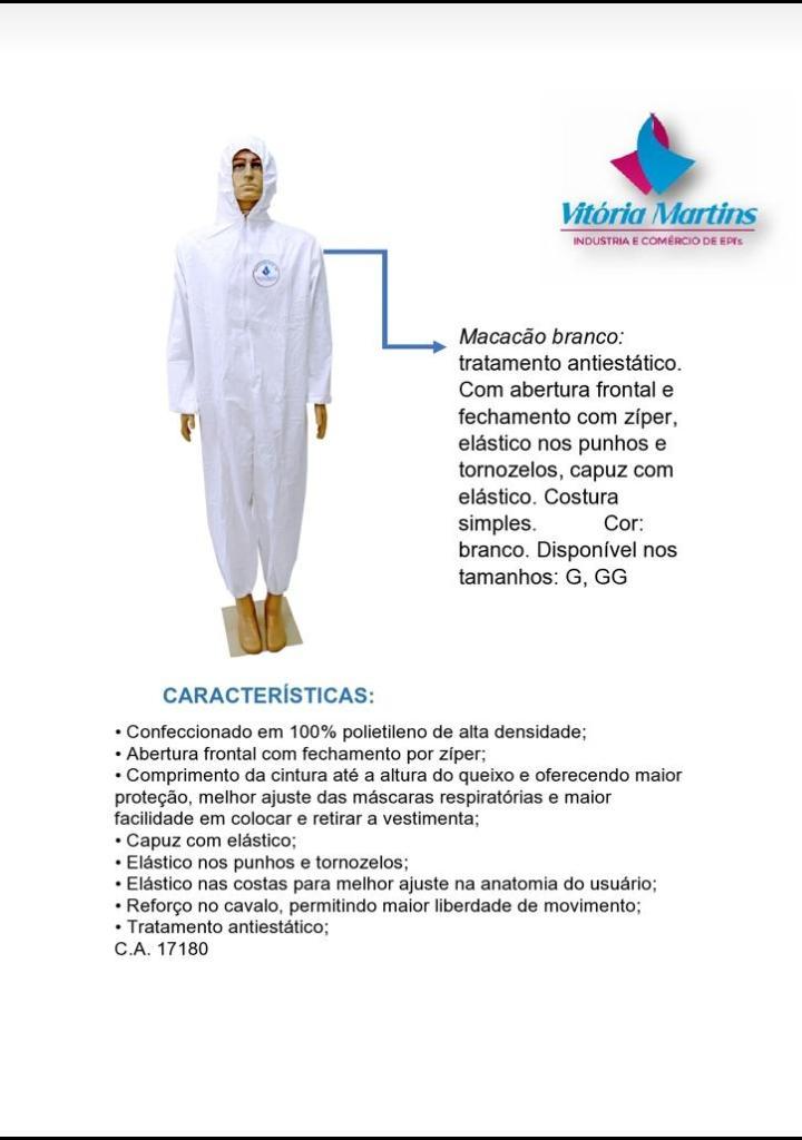 Macacão NTL 50 Branco